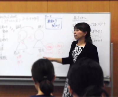 かざま_ヨシケイ講師風景